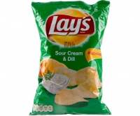 Chips SourCream&Dill Lays 100g