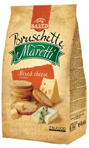 Bruschette Maretti Mixed Cheese 70g
