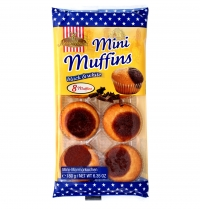Mini Muffins Black&White 8 Buc 180 G