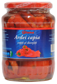 Ardei Capia Copti Si Decojiti Giana 720ml