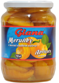 Giana Caise In Sirop 720ml
