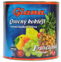 Giana Cocktail Fructe In Sirop  2650ml